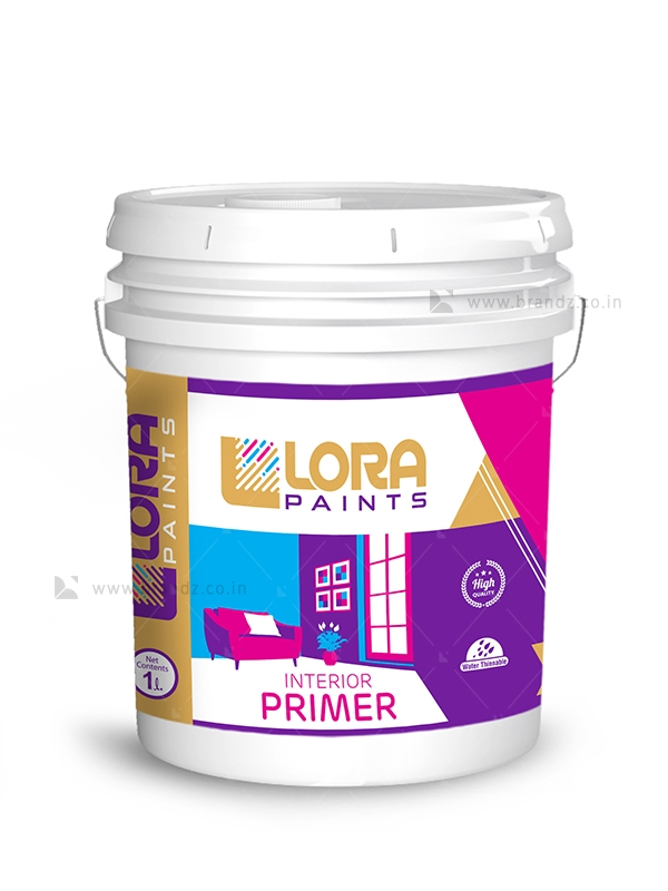 1 New Message Paint Buckets Painting Label Design