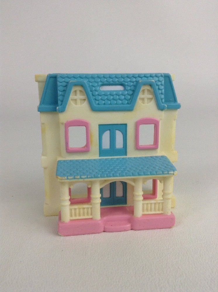 Vintage 1993 94 Fisher Price Loving Family Dream Dollhouse Toys Mini