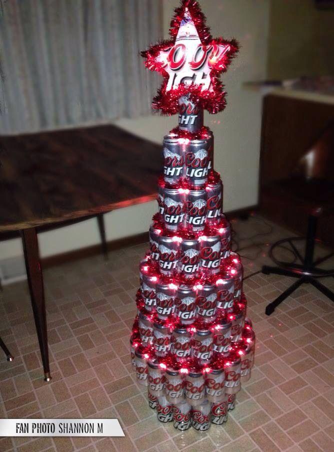 Beer Can Tree   Beer christmas gifts, Easy diy christmas gifts, Christmas beer