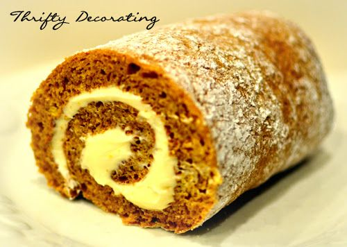 Jelly Roll Recipe Using Cake Flour: Thrifty Decorating: Pumpkin Roll . . . .