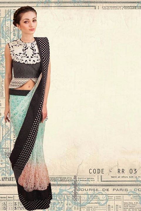 31 Sari Blouse Styles To Fall in Love With | saree drapping ...