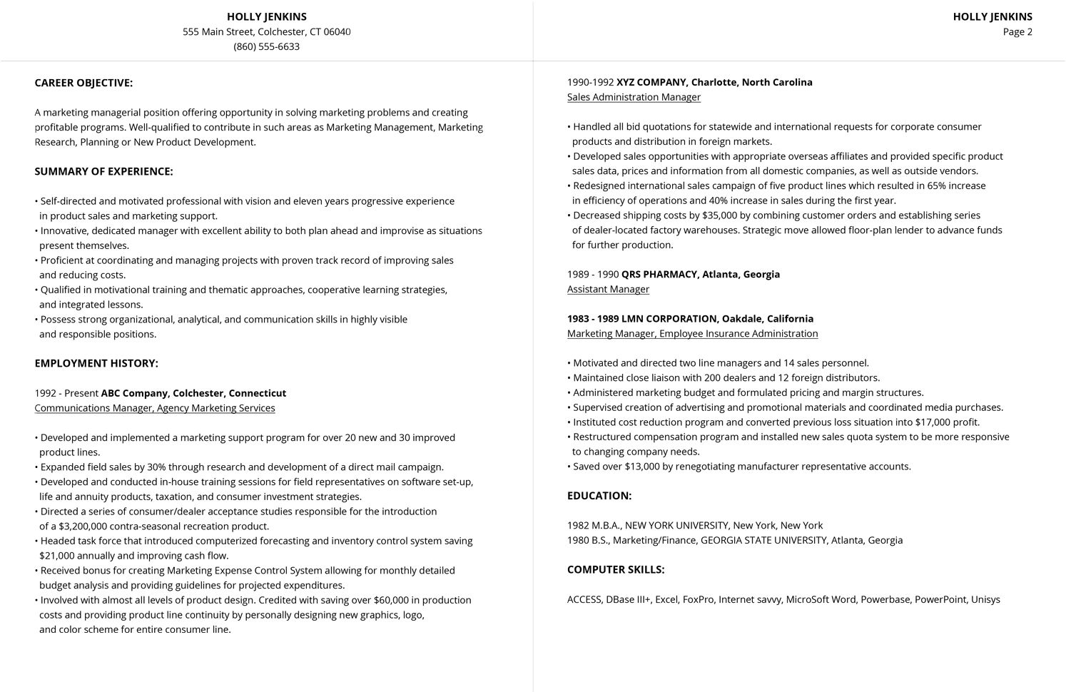3 Resume Formats for 2019 Resume format, Job resume examples