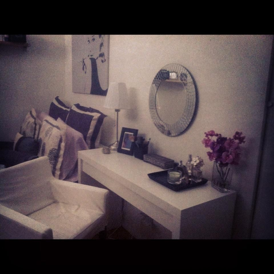 My new vanity and Audrey Hepburn - an icon who defines style, grace and beauty.