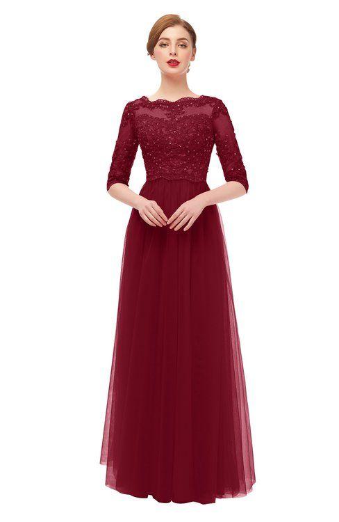 148952e39e Burgundy Bridesmaid Dresses   Burgundy Gowns - ColorsBridesmaid