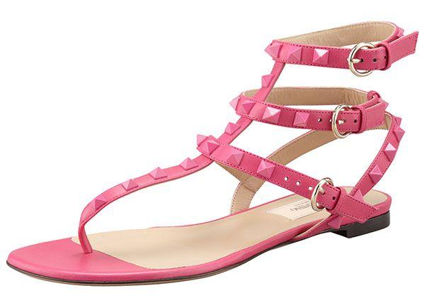 Rockstud sandals - Pink & Purple Valentino rQqzmOUR