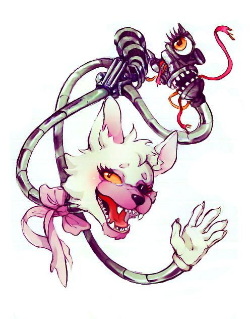 I like to 'hang' out with my friend, Mangle. Did you see what I did there? I didn't want to leave you 'hanging'! Ok I need to stop...