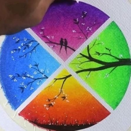 Amazing oil pastel drawing