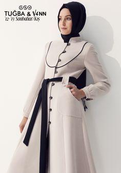 ملابس محجبات Tugba Venn عرب فاشون Model Pakaian Hijab Model Pakaian Muslim Model Pakaian