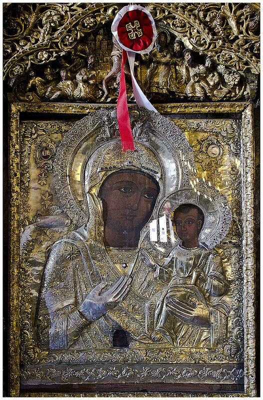 Virgin Mary and Christ 2, Greek Icon