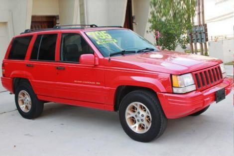 cheap jeep grand cherokee limited '96 for sale in texas — $3494