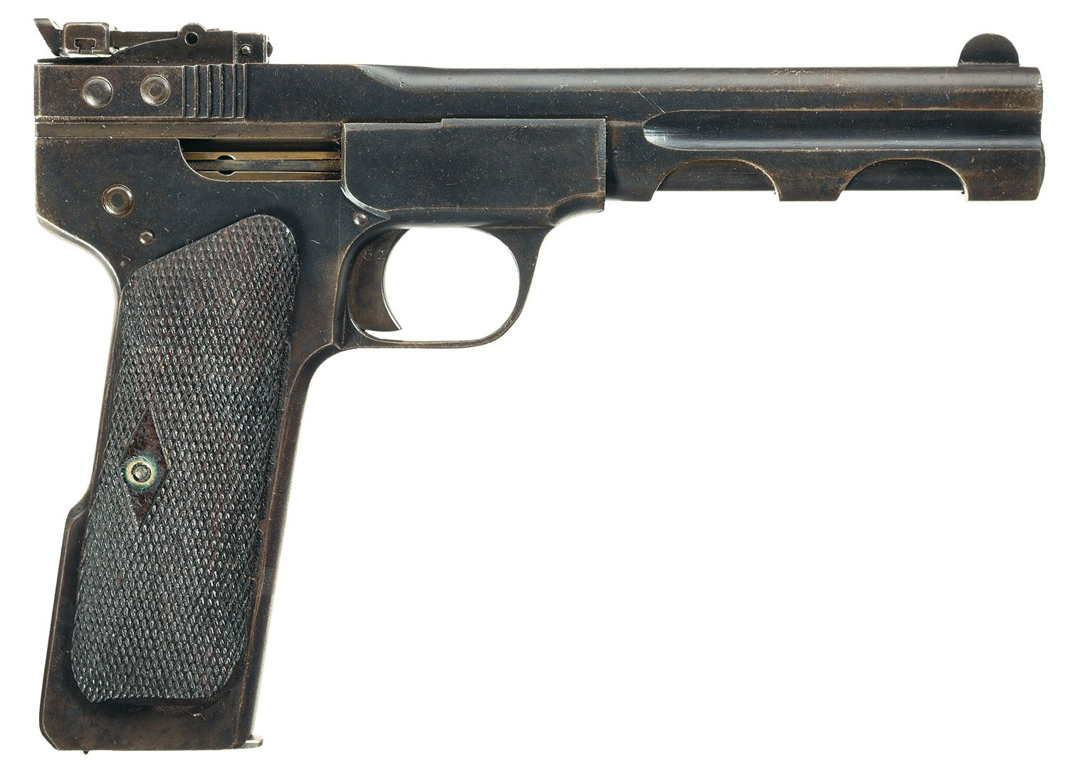 Spp 1 underwater pistol - Unique Chinese Copy Of A Fabrique Nationale Model 1900 Semi Automatic Pistol Slotted For Shoulder