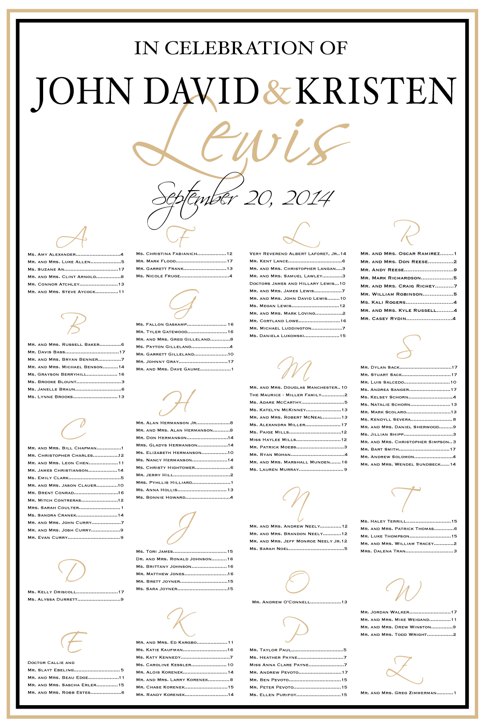 Wedding seating chart black and gold colors table also best custom boards images reception rh pinterest