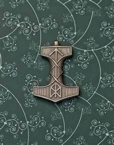 Image detail for -Stainless steel Mjolnir pendant with some custom runes