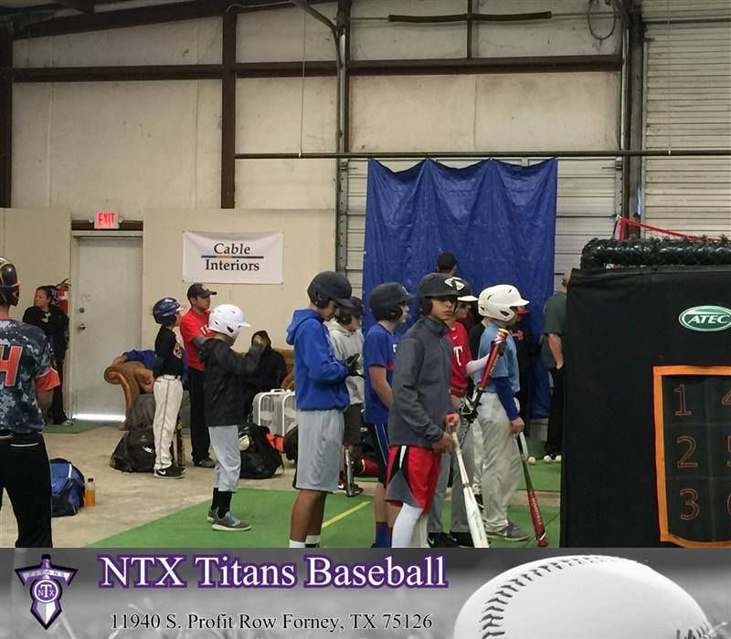 The Ntx Titans Conducted Tryouts For The Spring 2016 Season And Had A Great Turnout At Our Indoor Training Facility The Ntx Titans Are Fielding Teams From Ag Softball Training Baseball