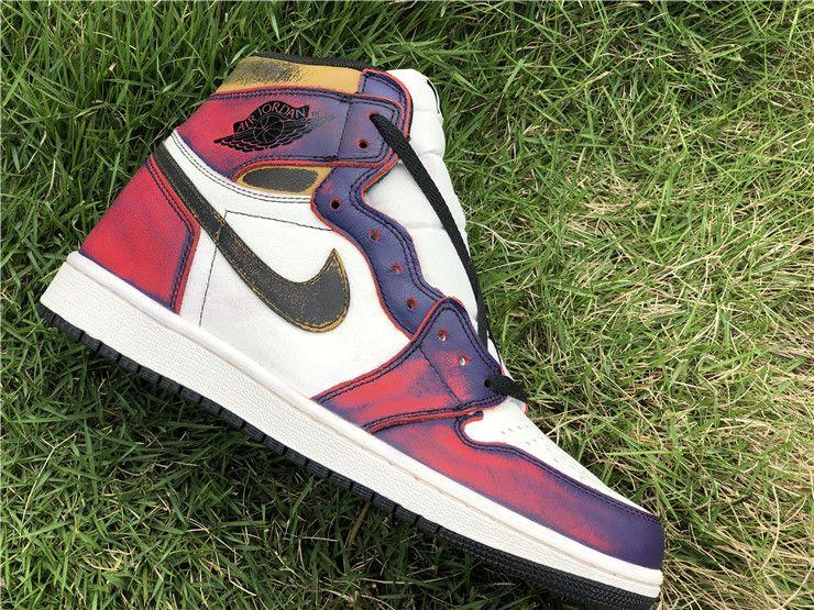 Purple sneakers, Nike air shoes