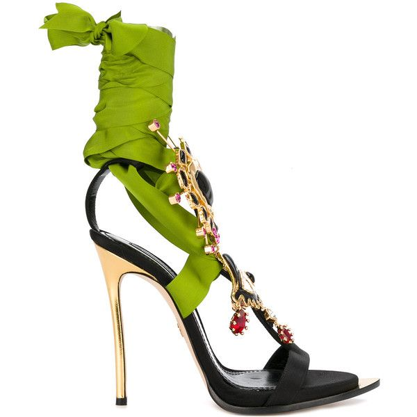 3c616ef161e018 Dsquared2 embellished Treasure sandals ( 1