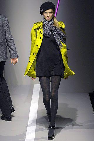 DKNY Fall 2007 Ready-to-Wear Fashion Show - Ekat Kiseleva