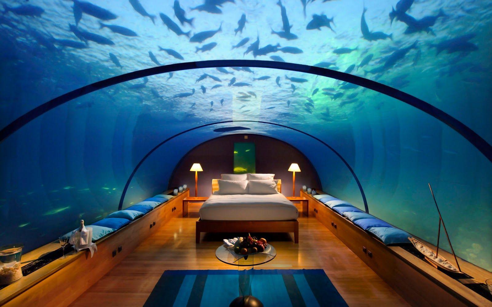 World Visits Dubai Hotel Under Water Best Branded Luxury