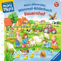 Mein Allererstes Wimmel Bilderbuch Bauernhof Pappbilderbucher Bucher Produkte Mein Allererstes Wimmel Bilderbuch Bilderbuch Bucher Ravensburger Puzzle