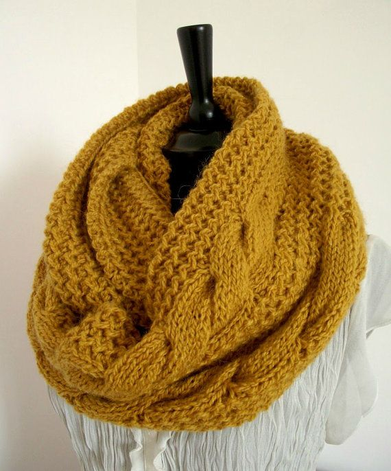 KNITTING PATTERN SCARF London Scarf Cowl by ...