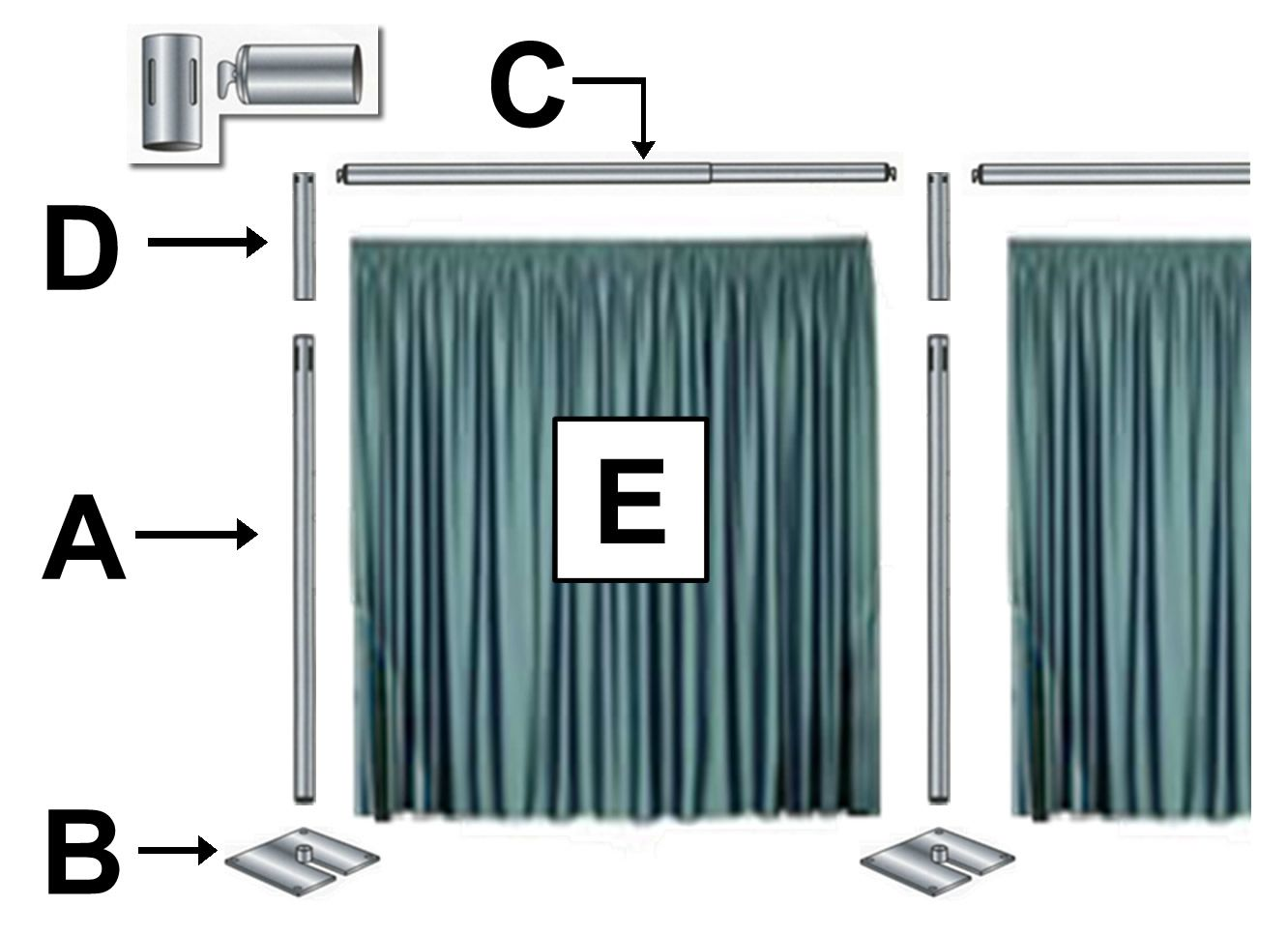 com manufacturers drape low bacdrop alibaba cheap suppliers pipe kits at drapes showroom and