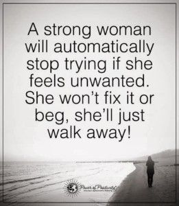 Signs youre dating a strong woman