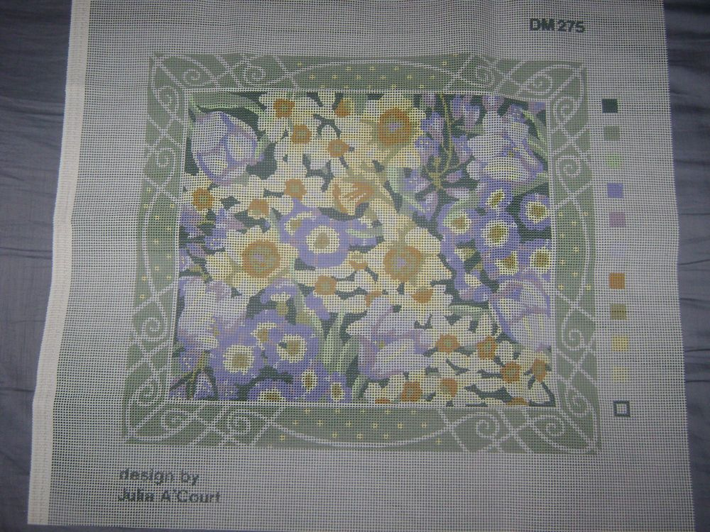 Tapestry Needlepoint Kit Lady Spring
