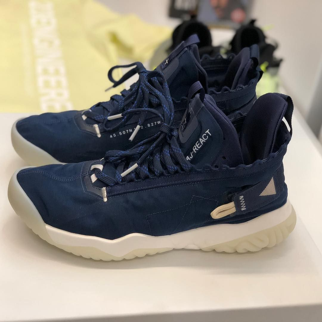 new arrival 1bfb9 30235 In addition to the Air Jordan 33, we saw the upcoming Jordan Proto React  (1st image) and the Jordan Apex React (2nd image). Difference…