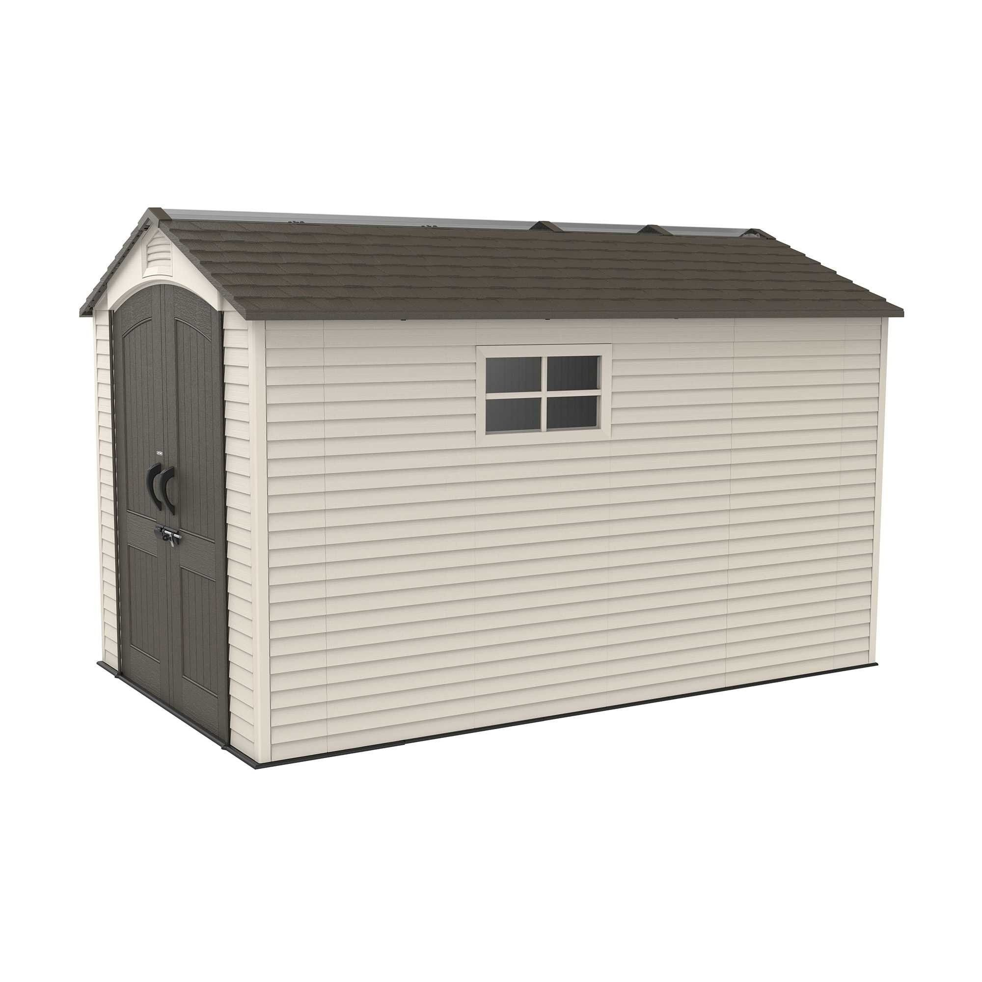 Lifetime 7ft X 12ft Heavy Duty Plastic Shed Plastic Sheds Shed Metal Shed