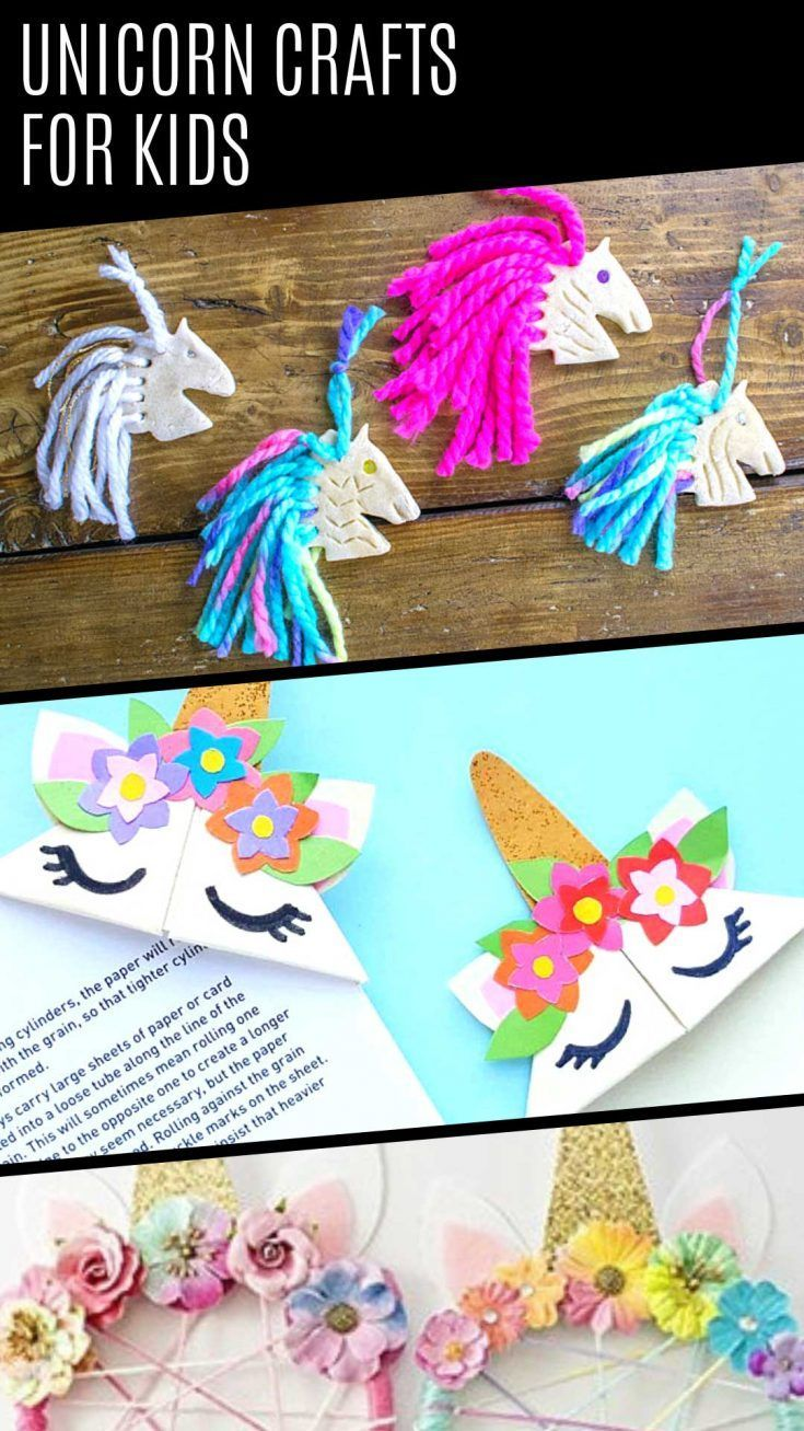 18 Easy Unicorn Crafts for Kids that are Totally Magical! #unicorncrafts