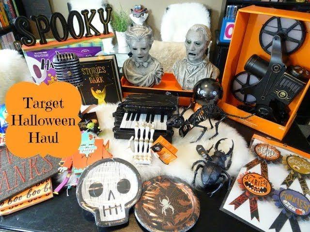 Target Halloween Decor Haul -   nannuballoons/seasonal