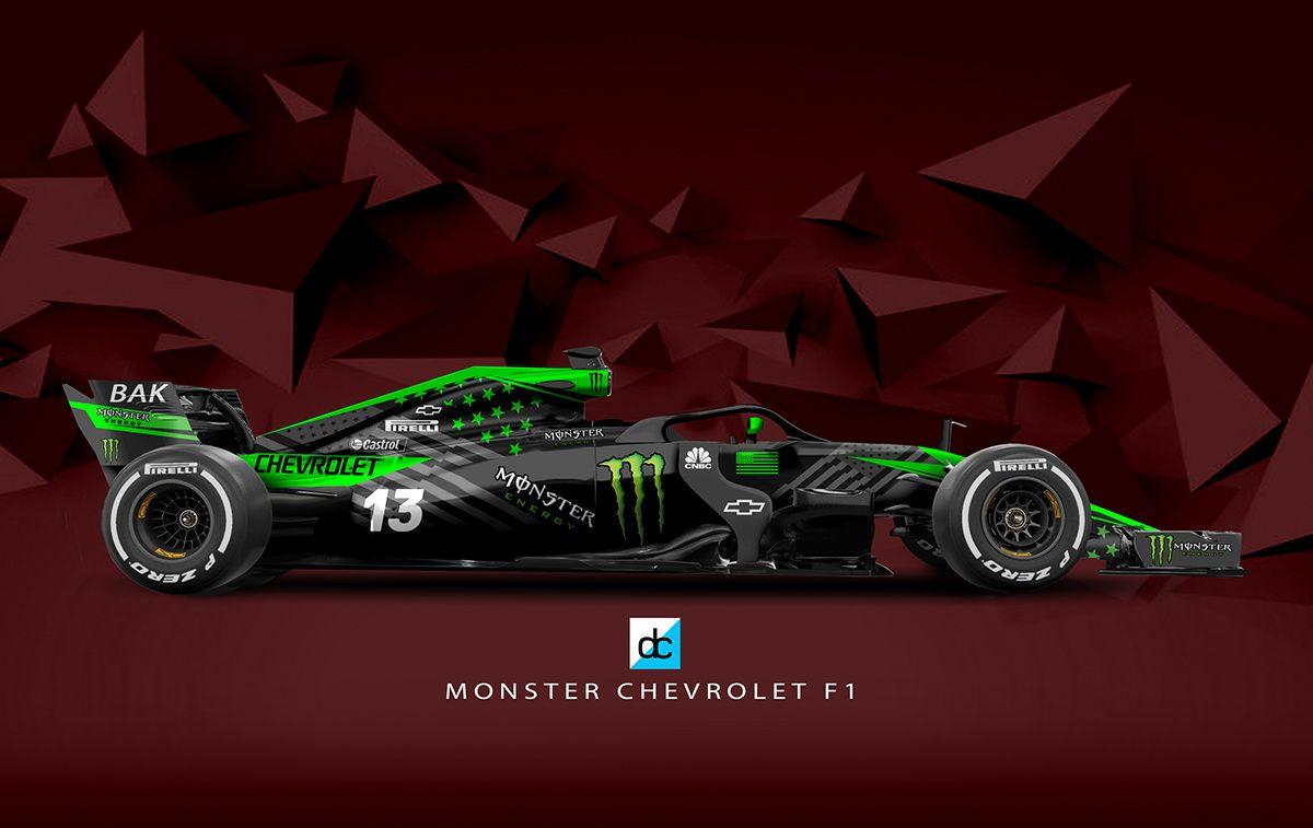 Monster Chevrolet F1 Concept Team (Late Braking) on