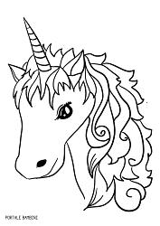 Disegni di Unicorni (e Unicorni Kawaii) da Colorare