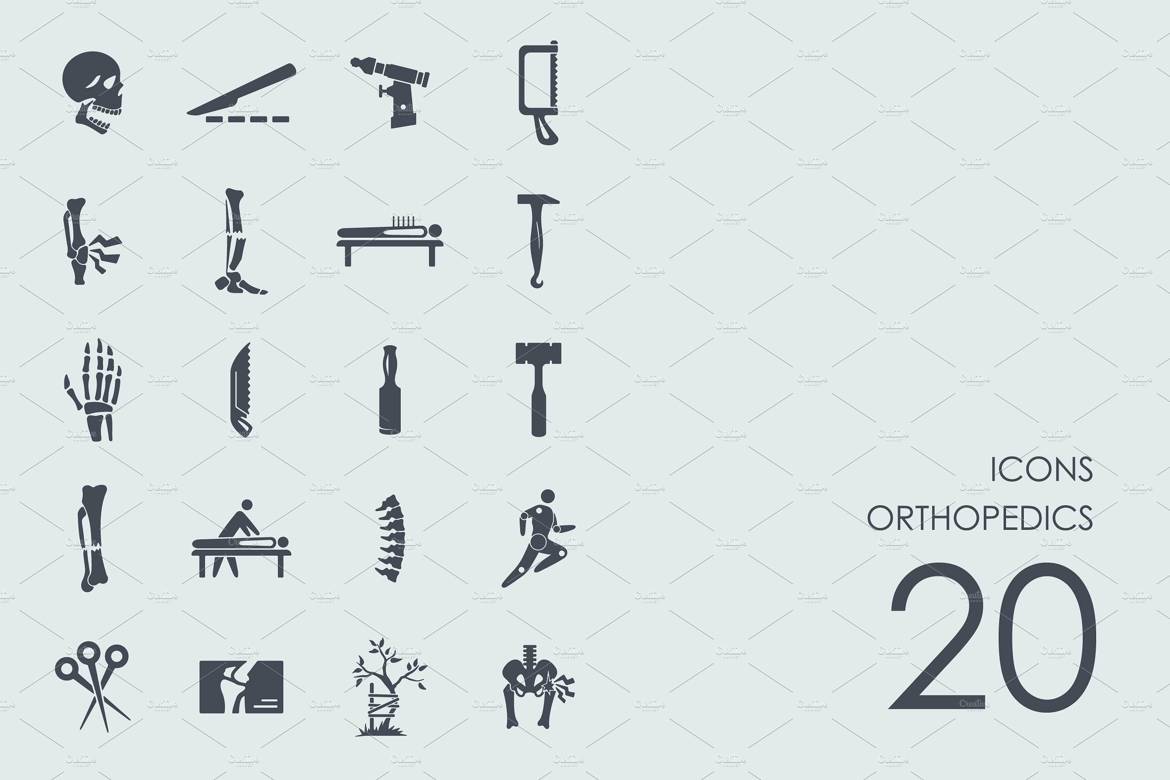 Orthopedics icons #Ready#iOS#apps#WOFF | designs | Simple