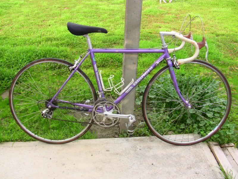 Bianchi tavolozza ~ Bianchi limited in purple. eeeeee! bike pinterest bike stuff
