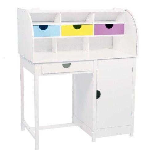 Le bureau secr taire contient de nombreuses possibilit s de rangement l 39 enfant glisse ses - Bureau secretaire enfant ...