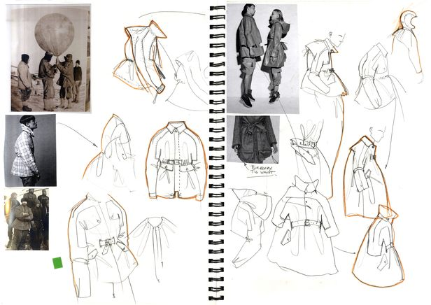 Fashion Sketch Book   Fashion Design Sketches And Idea Development; Jacket  Silhouettes // Alexander