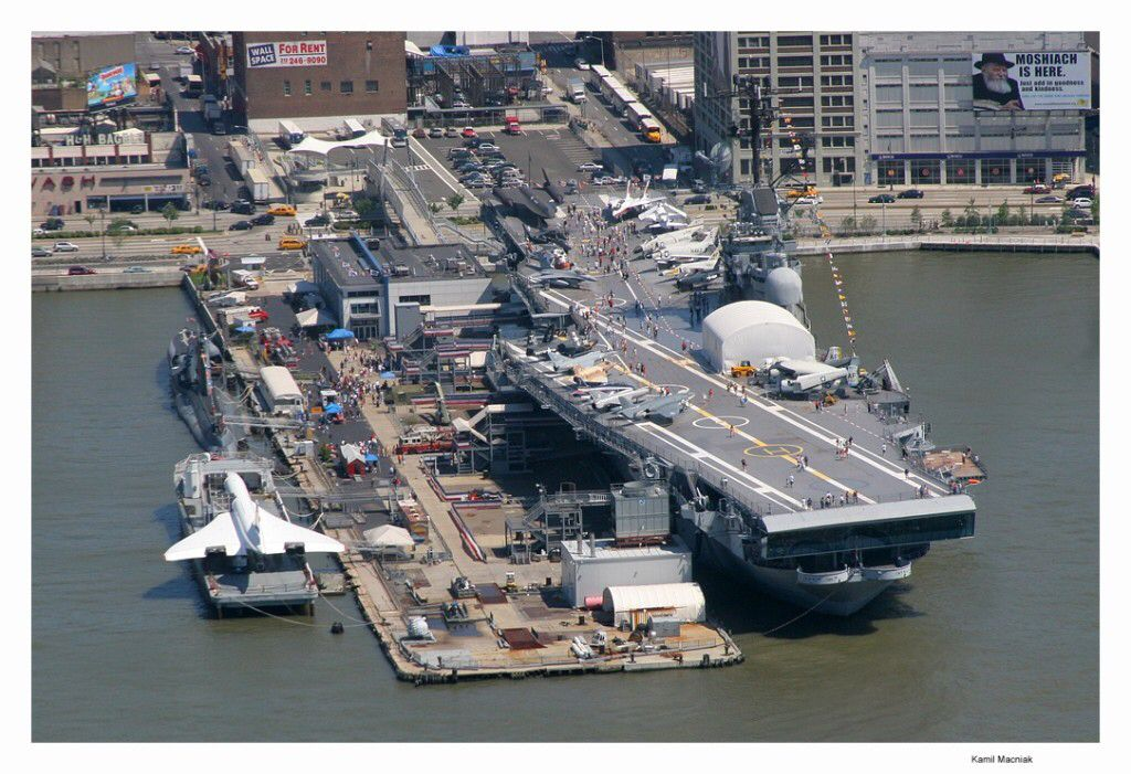 Intrepid Sea, Air and Space museum. Def visiting here. Pier 86, West 46th street and 12th avenue.