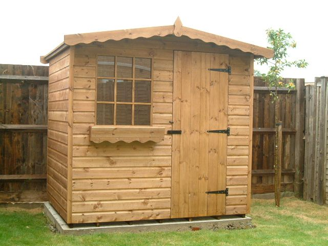 bespoke garden sheds by sheds unlimited 7x5 chalet - Garden Sheds 7x5