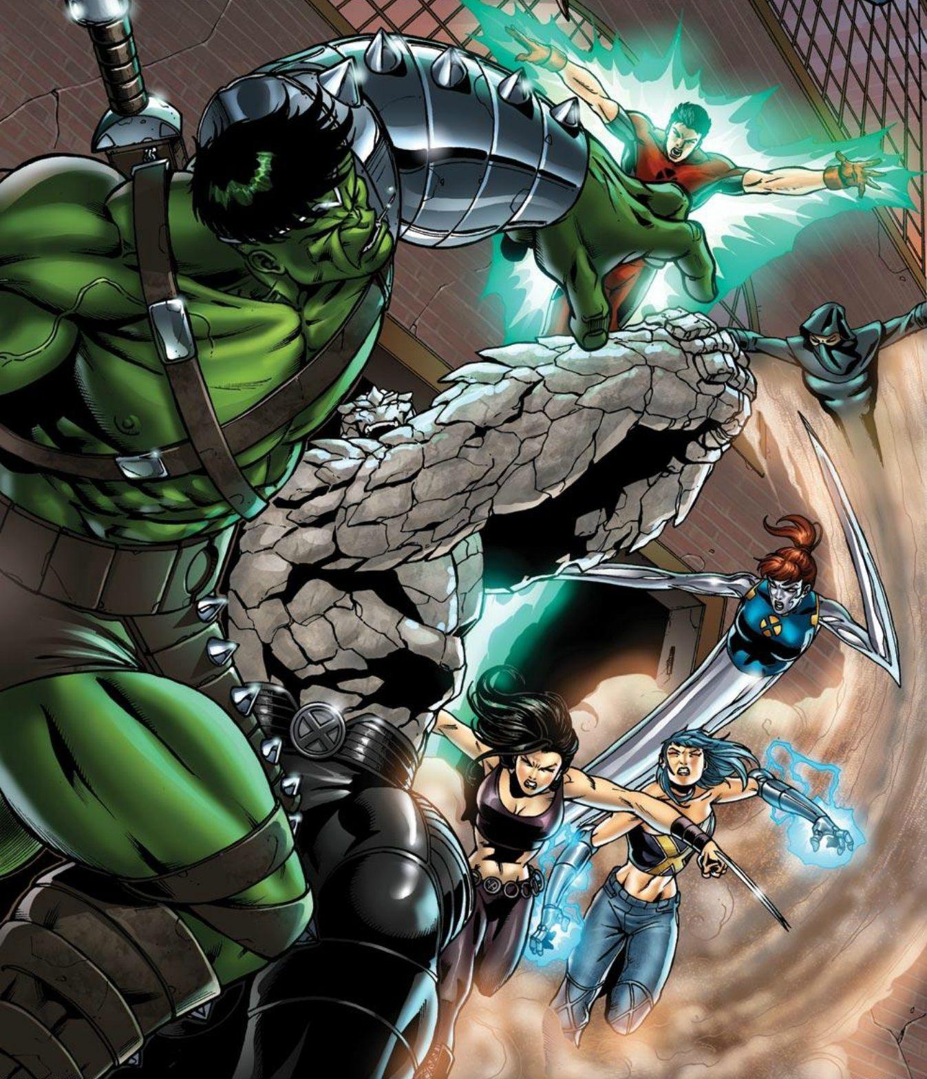 X Men Vs Hulk X Men Marvel Heroes Superhero Art