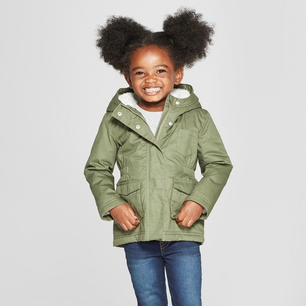 71f0b78fd Make sure your little girl stays warm and stylish during the cooler seasons  with this Military