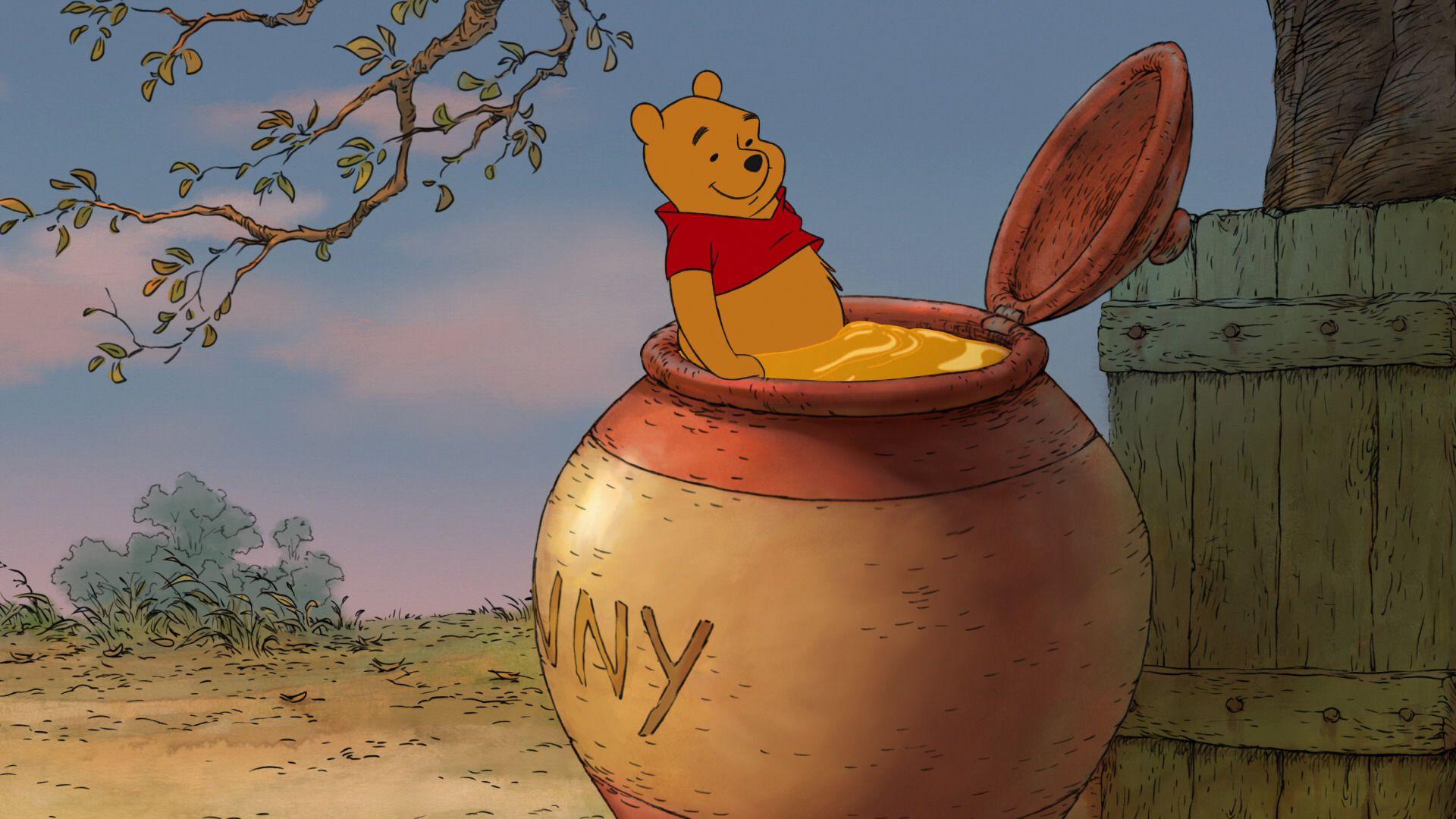 Winnie the pooh hunny pot