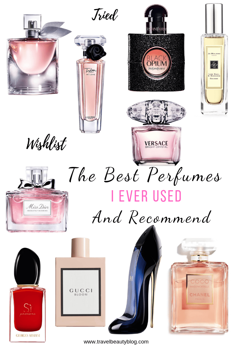 The Best Perfumes I Ever Used And Recommend | Travel Beauty