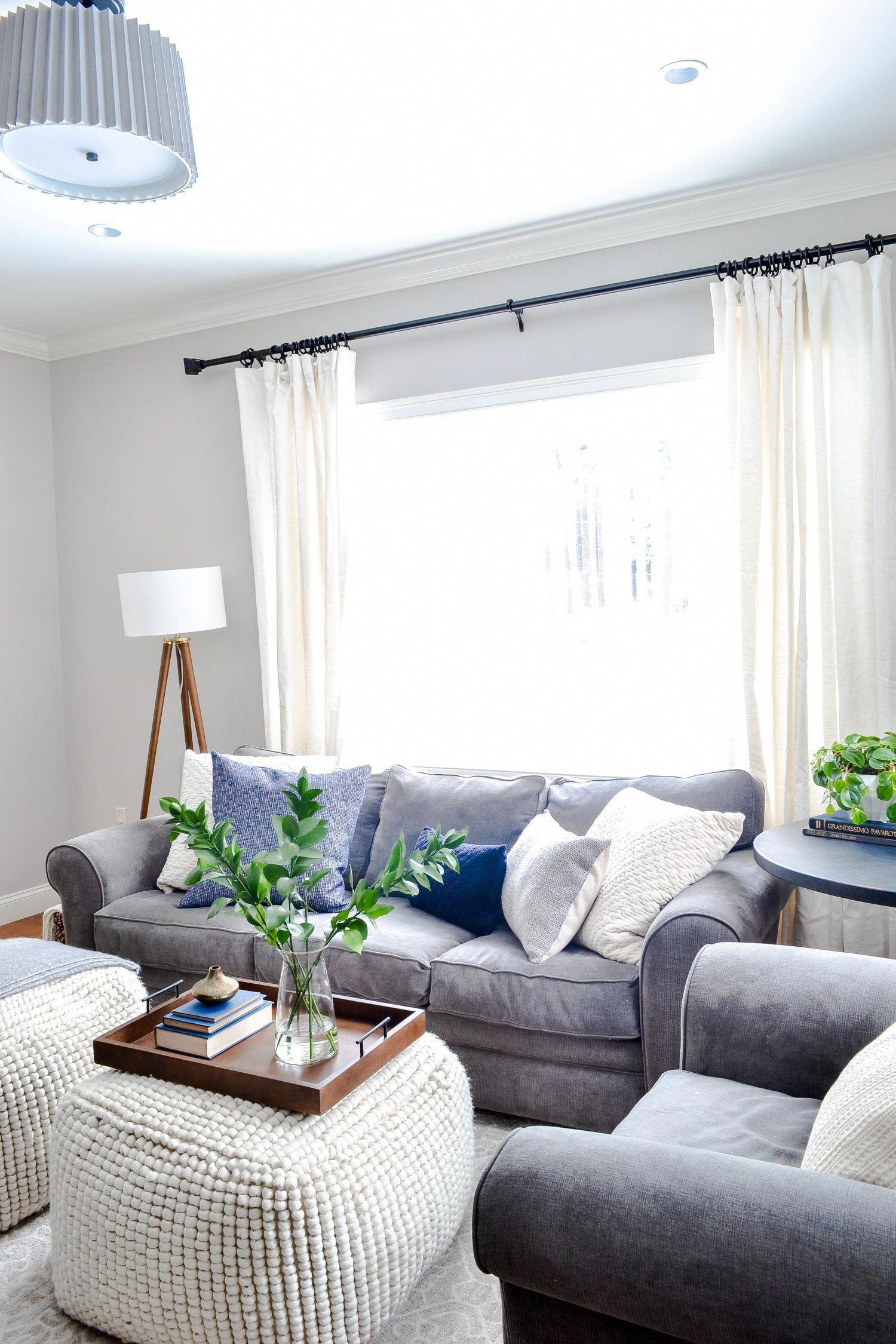 Gray Oak Studio - Hutchins Project Living Room - Modern ...