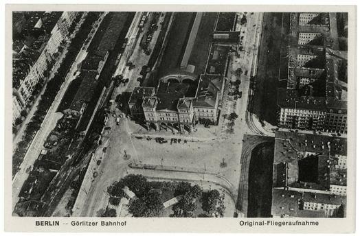 berlin 1900 goerlitzer bahnhof mit spreewaldplatz berlin pinterest. Black Bedroom Furniture Sets. Home Design Ideas