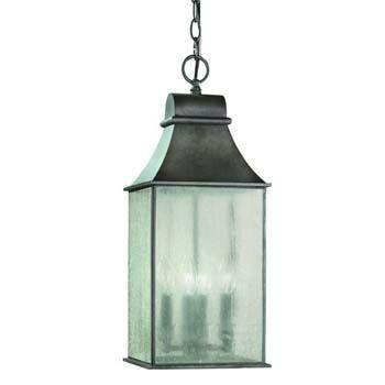 World Imports WI-61310-06 Revere 4 Light Exterior Hanging Lantern ...