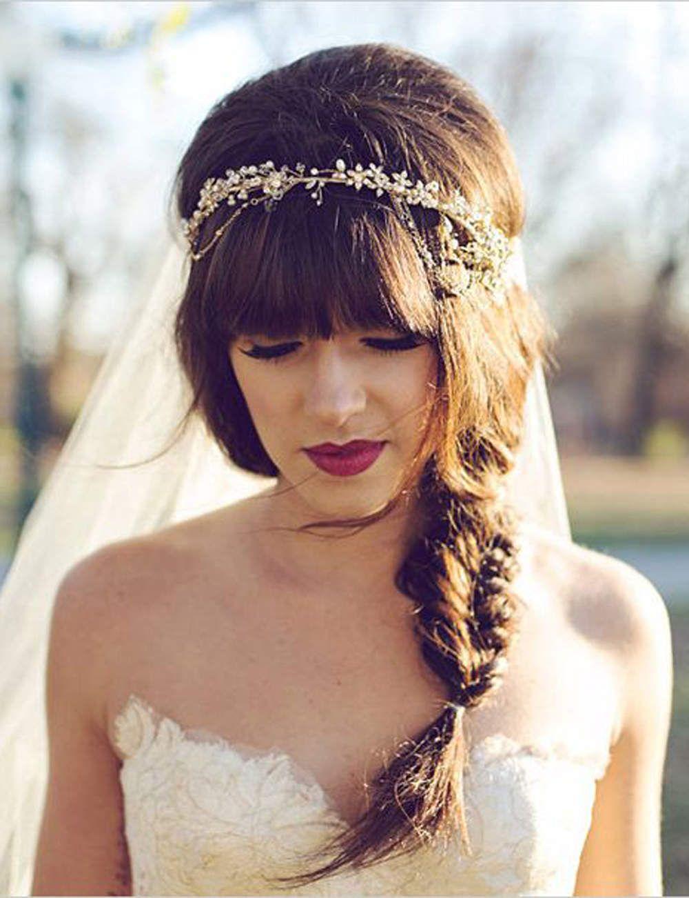 Coiffures de mariée les tendances de wedding hair