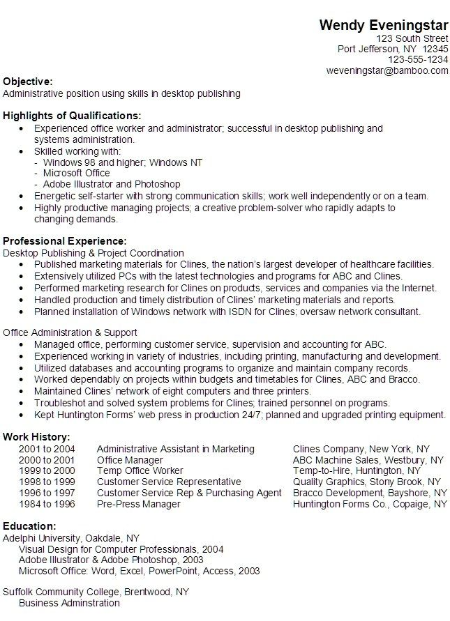 administrative assistant resume samples tips functional in