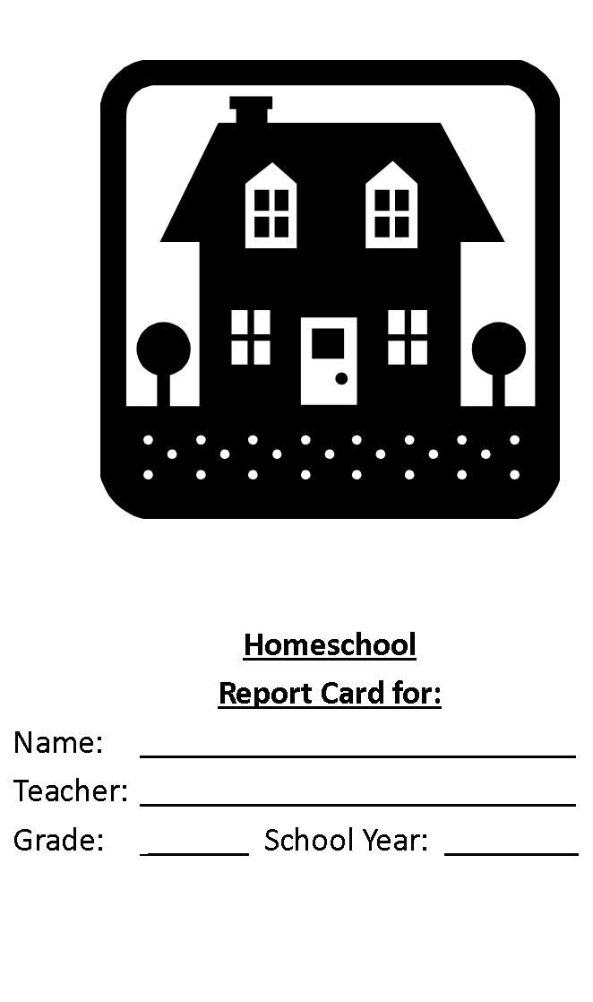Create A Homeschool Report Card Today  Homeschool Grade Cards