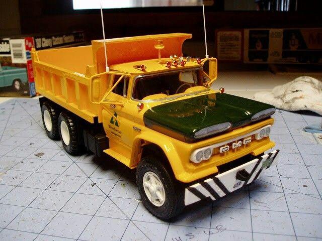 60's GMC | Model truck kits, Tonka truck, Toy trucks